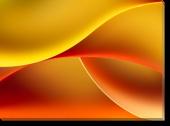 Tablou Canvas Orange