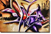 Tablou Canvas Graffiti