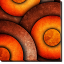 Tablou Canvas Cercuri de foc