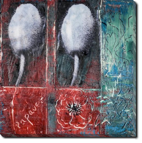 Tablou Canvas Abstract Poppies