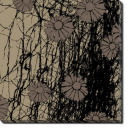 Tablou Canvas Flori Abstracte
