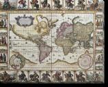 Tablou Canvas Harta Lumii-1652