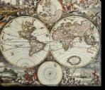 Tablou Canvas Harta Lumii-1658