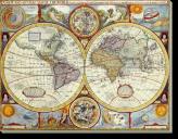 Tablou Canvas Harta Lumii-1626