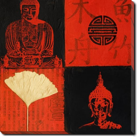 Tablou Canvas Buddha Mix