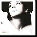 Tablou Canvas Portret Alb-negru