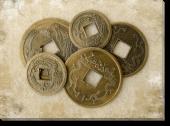 Tablou Canvas Monede Feng Shui