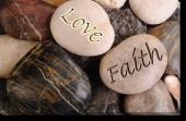 Tablou Canvas Love and Faith