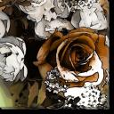 Tablou Canvas Motiv Floral