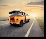 Tablou Canvas Vintage Bus