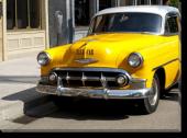 Tablou Canvas Taxi-Car