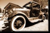 Tablou Canvas Old Car