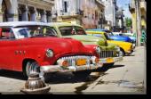 Tablou Canvas Masini Cubaneze Colorate