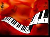 Tablou Canvas Music Background