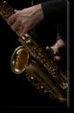 Tablou Canvas Saxofonist 2