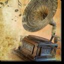 Tablou Canvas Gramofon