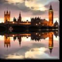 Tablou Canvas Big Ben Seara