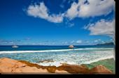Tablou Canvas Plaja in Seychelle