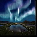 Tablou Canvas Aurora Boreala