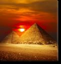 Tablou Canvas Piramide 2
