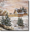 Tablou Canvas Casa in Padure