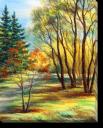 Tablou Canvas Pictura-Peisaj