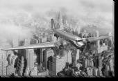 Tablou Canvas Zburand deasupra New Yorkului