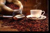 Tablou Canvas Ceasca si Boabe de Cafea